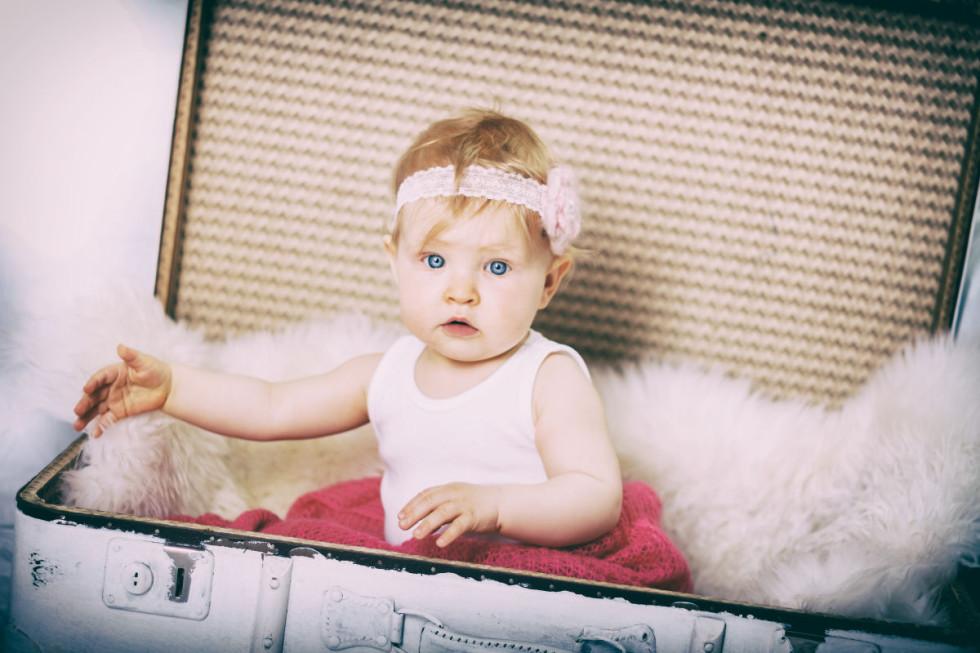 """Unser erstes """"Hochzeitsbaby"""": Babyfotos der kleinen Amy"""
