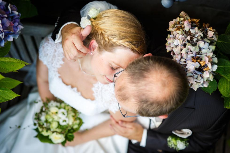 Elena und Christoph: Hochzeitsfotos auf Schloss Drachenburg