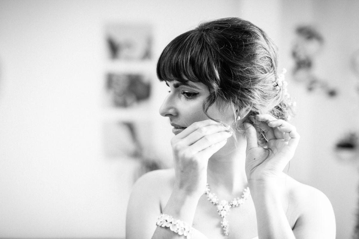 Ohrringe Hochzeit