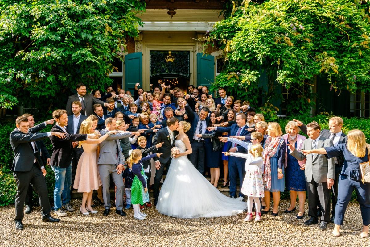 Hochzeitsfoto Gruppenfoto