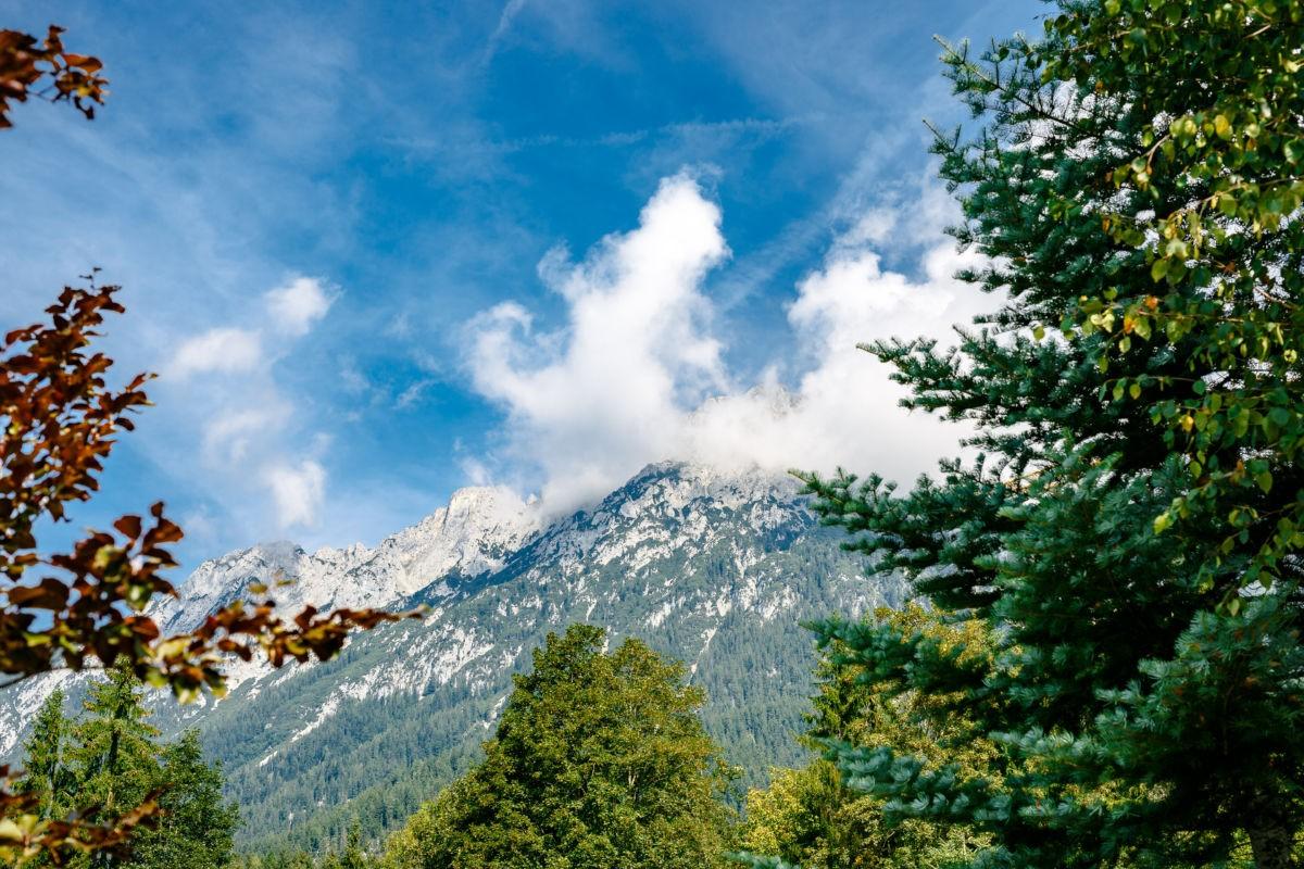 Kaisergebirge in Tirol, Österreich