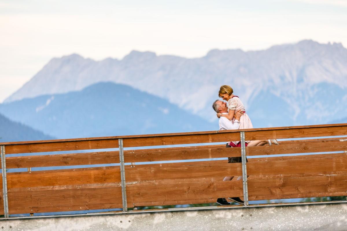 Hochzeitsbilder Vor dem Kaisergebirge