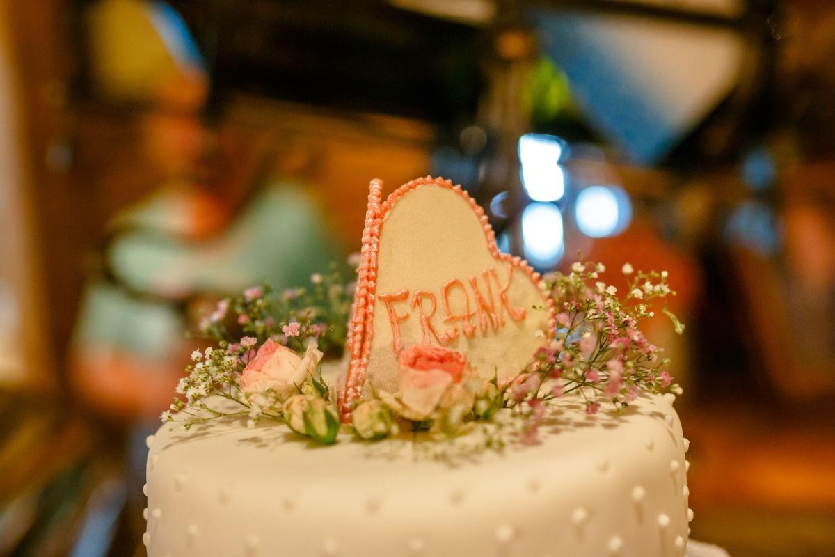 Tortendekoration Hochzeit in Kitzbühel