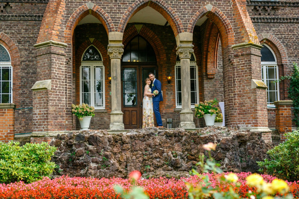 Hochzeitsfotos in der Marienburg in Langenfeld