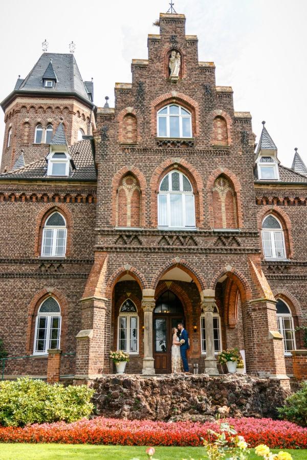 Hochzeitsfotos in de Marienburg in Langenfeld