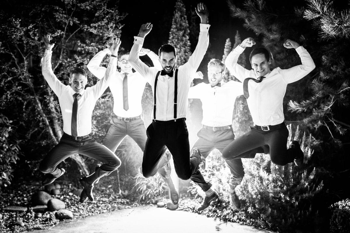 mit den besten Jungs braucht man auch Bilder auf seiner Hochzeit