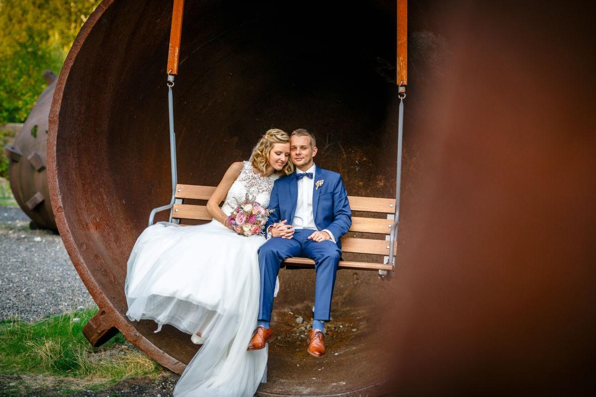 Hochzeitsfotos Industrie