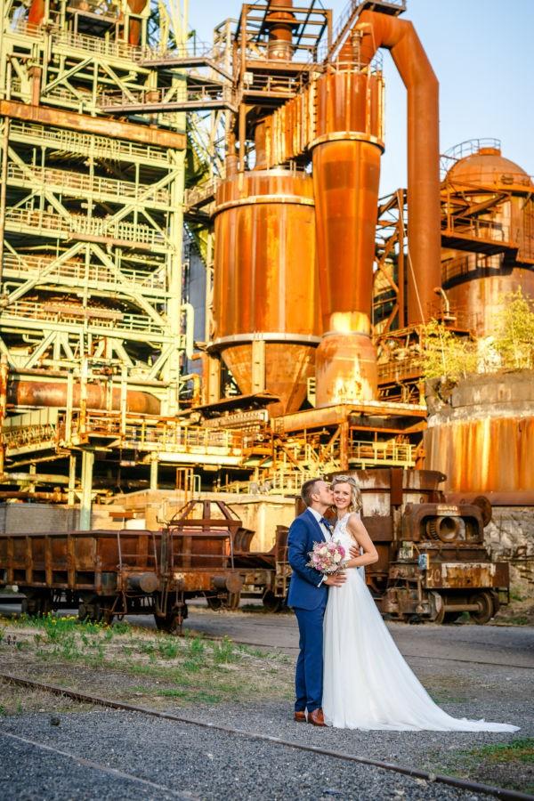 Hochzeitsfotos Industriekultur