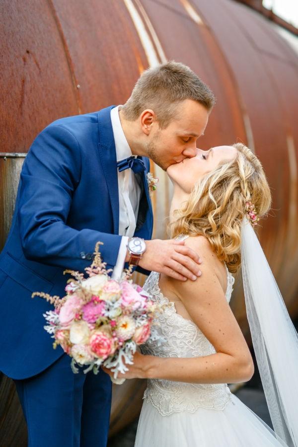 Hochzeitsfotograf Bochum, geshootet wurde in der Henrichshütte Hattingen