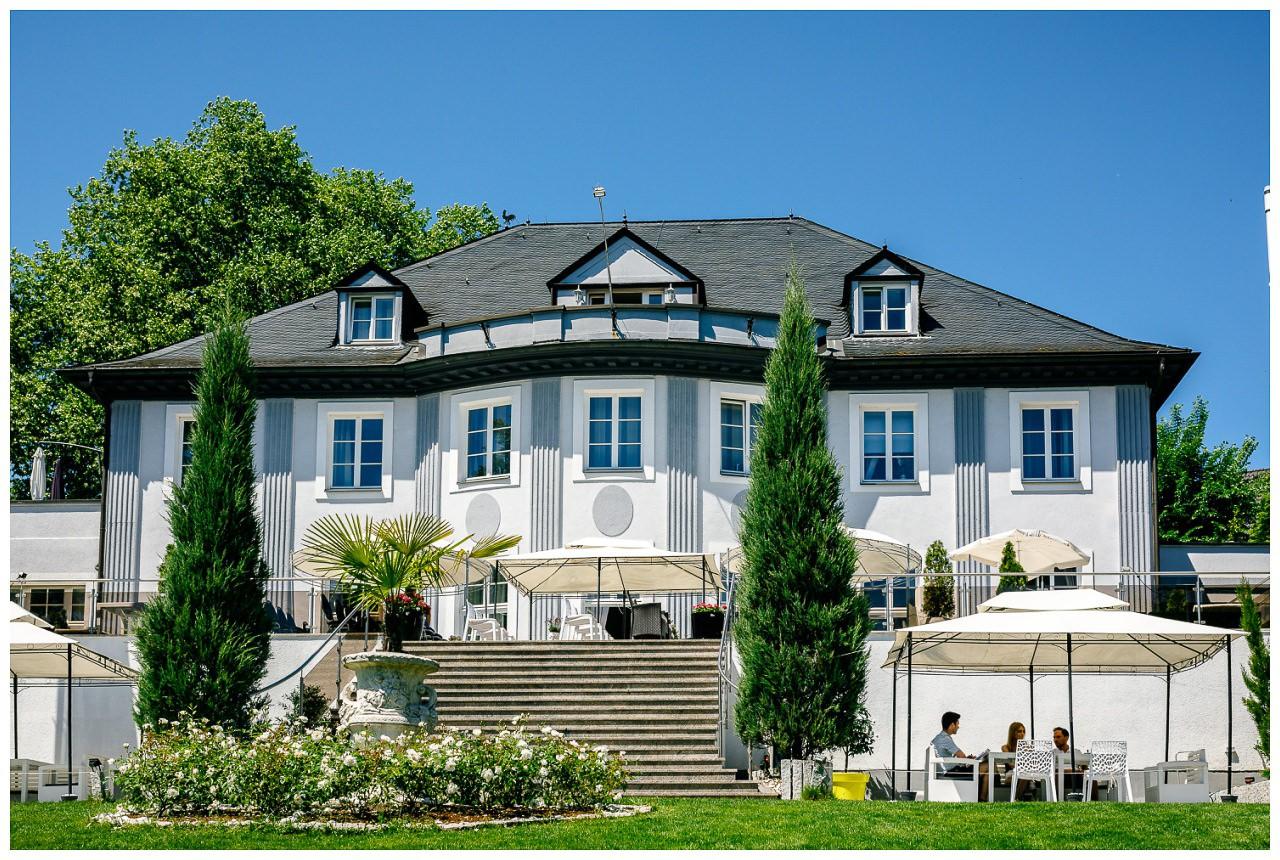 Die Villa Vera in Wetter.