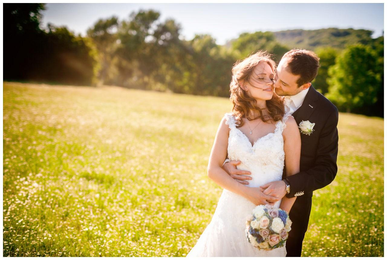 Authentisches Hochzeitsfoto, ganz ungestellt.