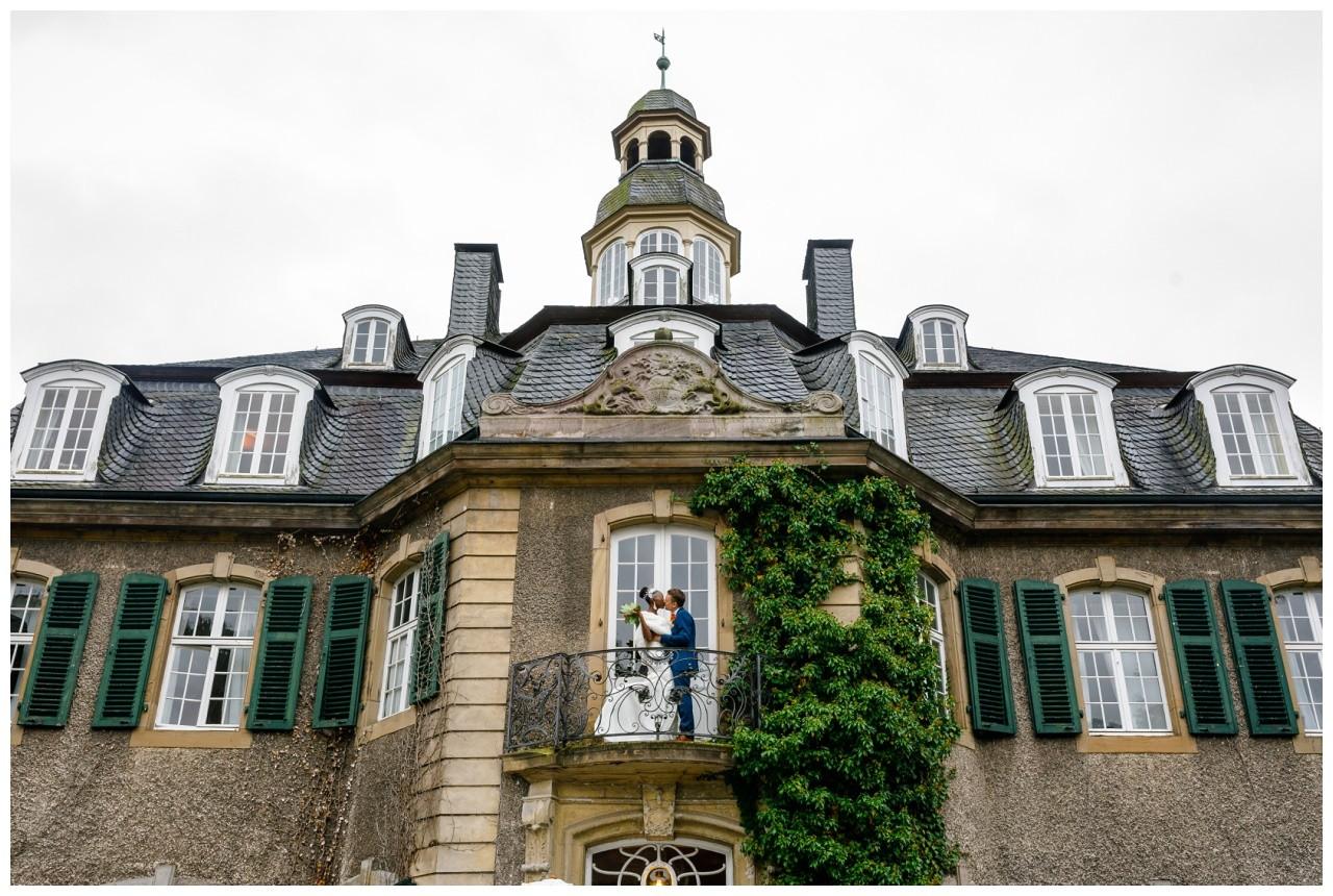 Hochzeitsfoto Schloss Hackhausen Solingen.