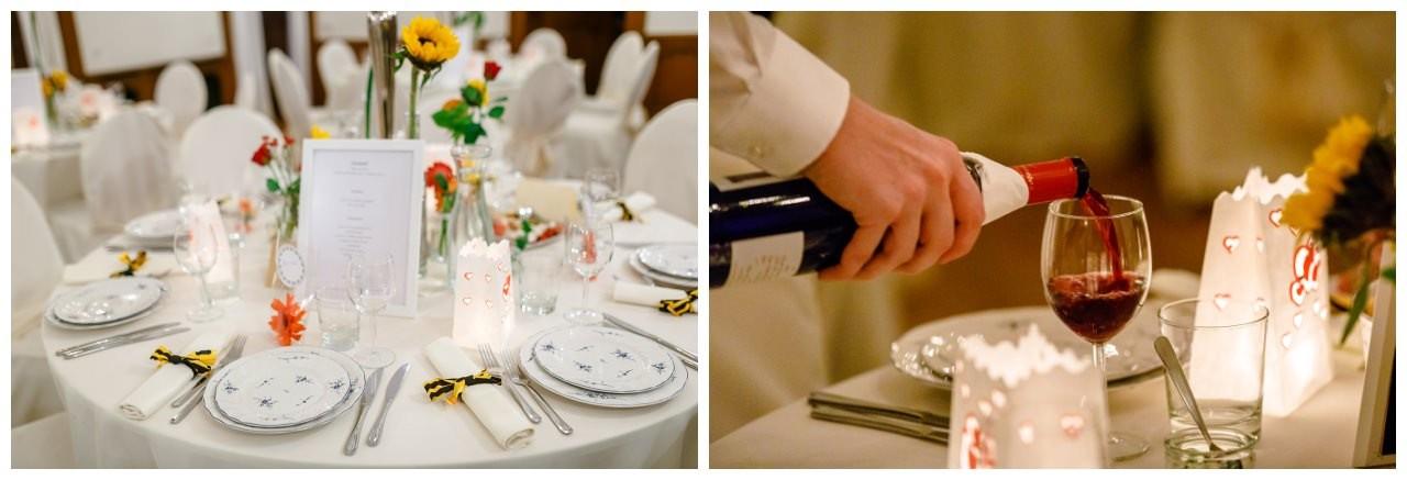 Hochzeitstafel.