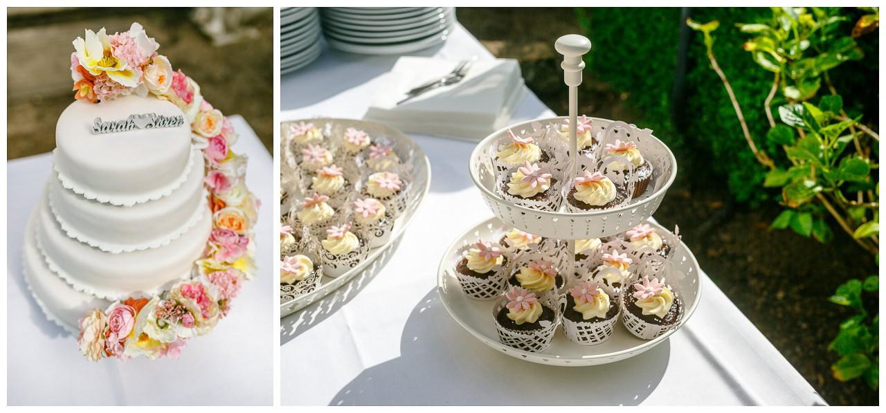 Hochzeitstorte bei Hochzeit in Velbert.