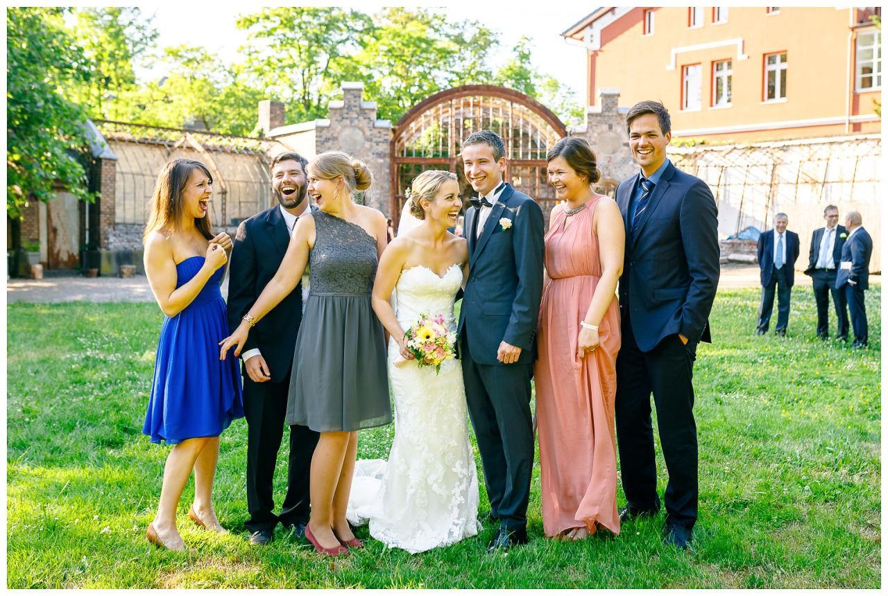 Familienfoto Hochzeit