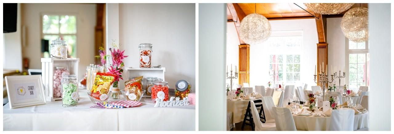 Hochzeitsdekoration in der Wipperaue in Solingen