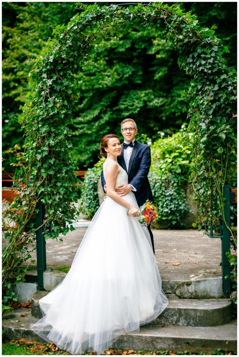 Hochzeitsfoto an der Wipperaue in Solingen