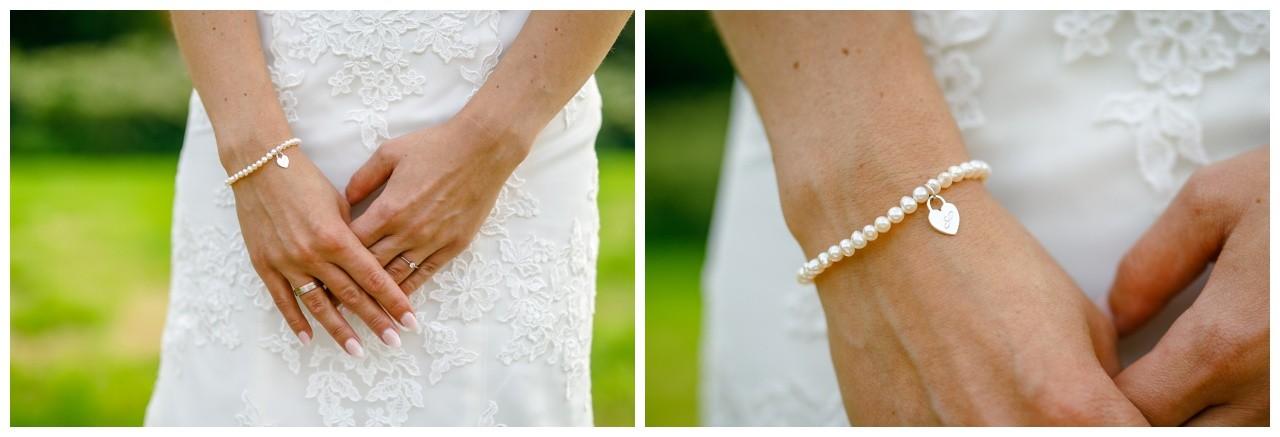 brautschmuck perlen weißgold