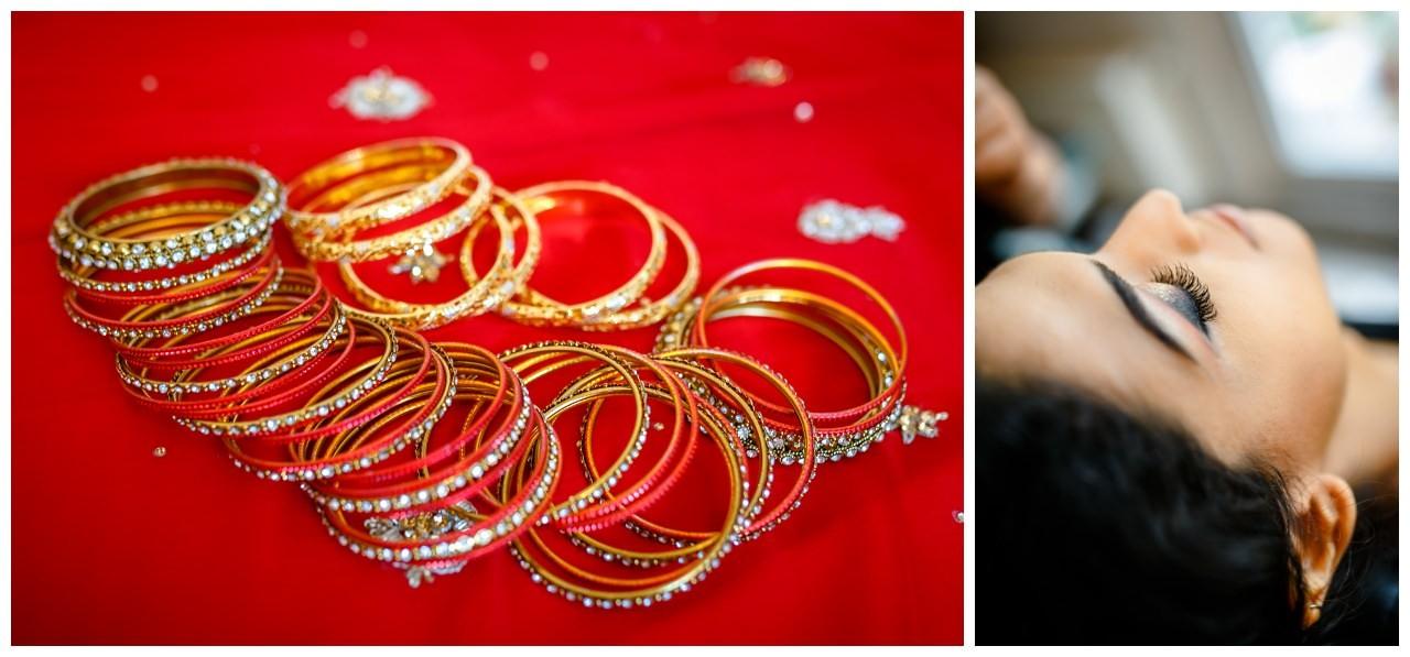 Traditioneller pakistanischer Brautschmuck