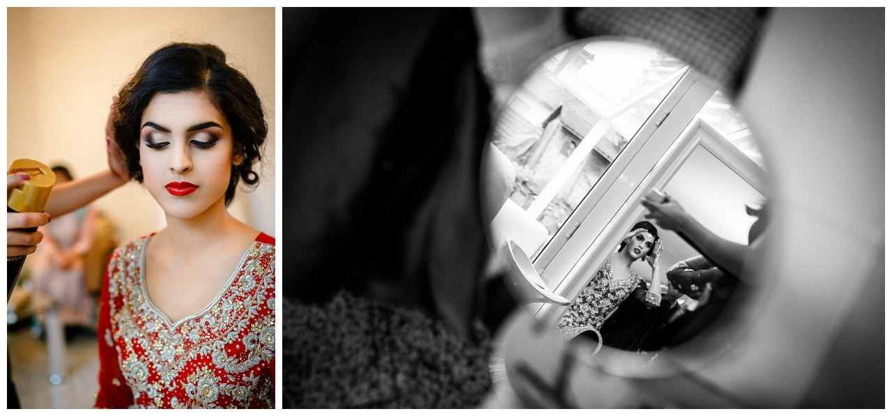 Getting Ready für die pakistanische Hochzeit n Köln