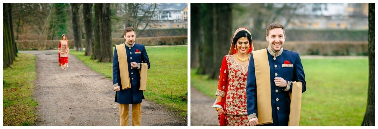 First Look bei der Hochzeit in Köln