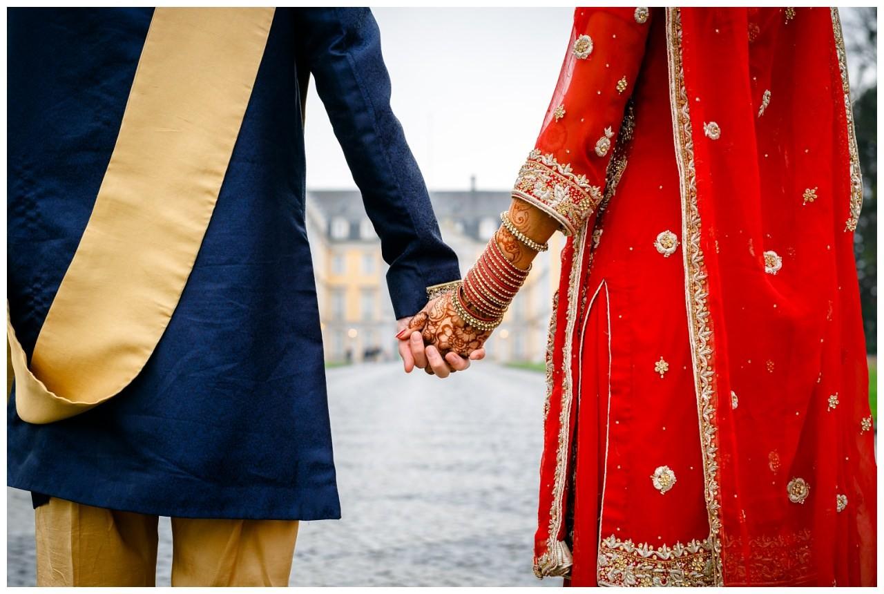Brautpaarshooting Bollywood Hochezit Köln
