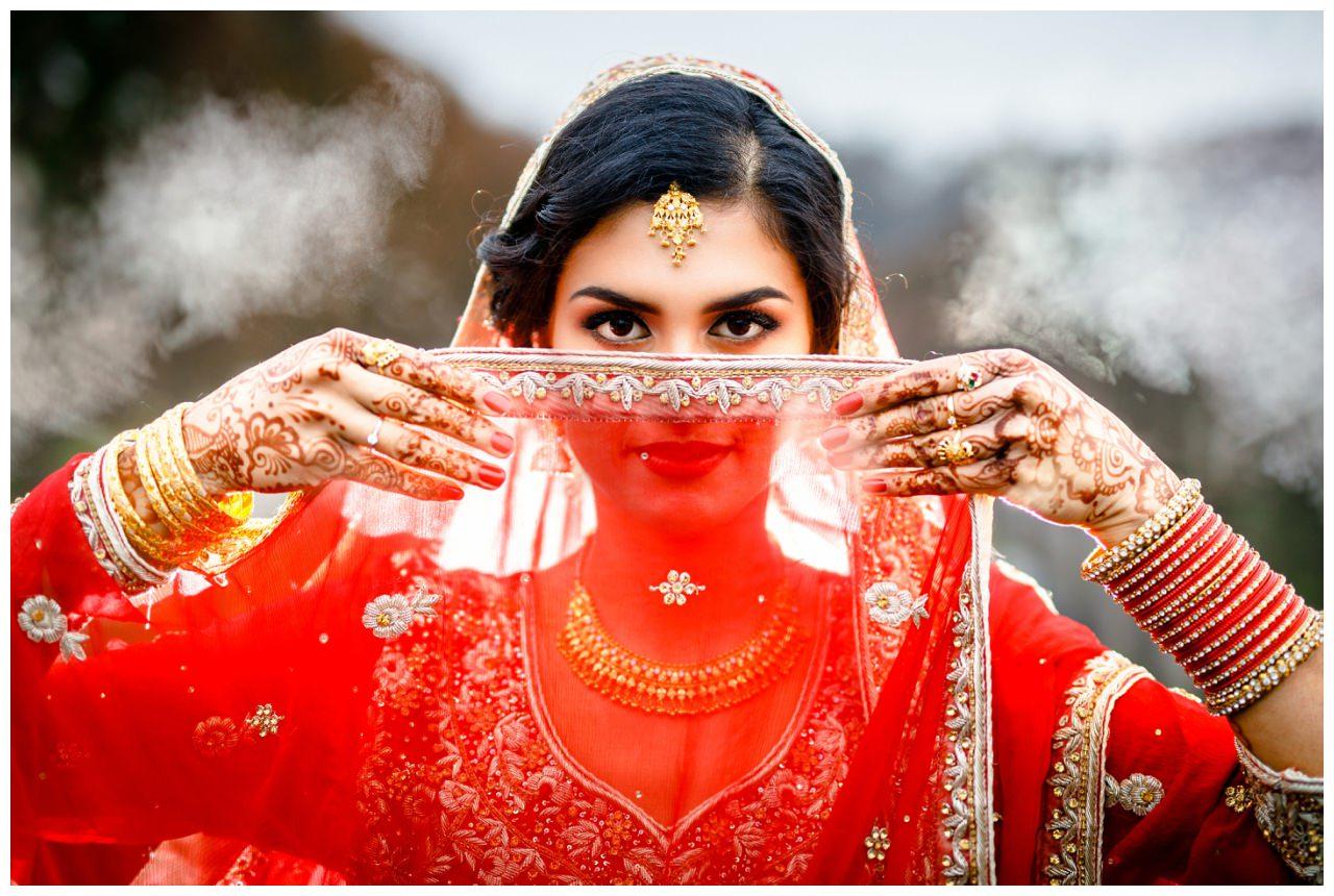 Persische Braut Bollywood Film Köln