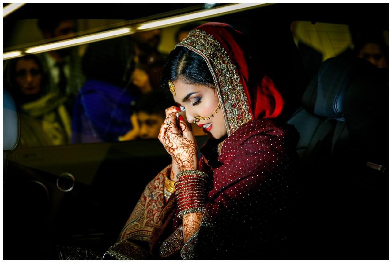 Verabschiedung der Braut pakistanische Hochzeit