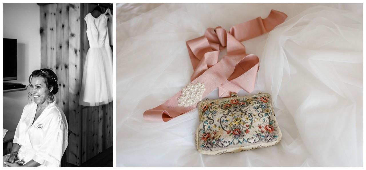 die Brauttasche Vintage am Chiemsee