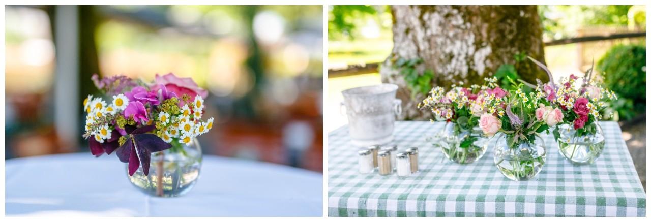 Tischdekoration Fraueninsel Chiemsee