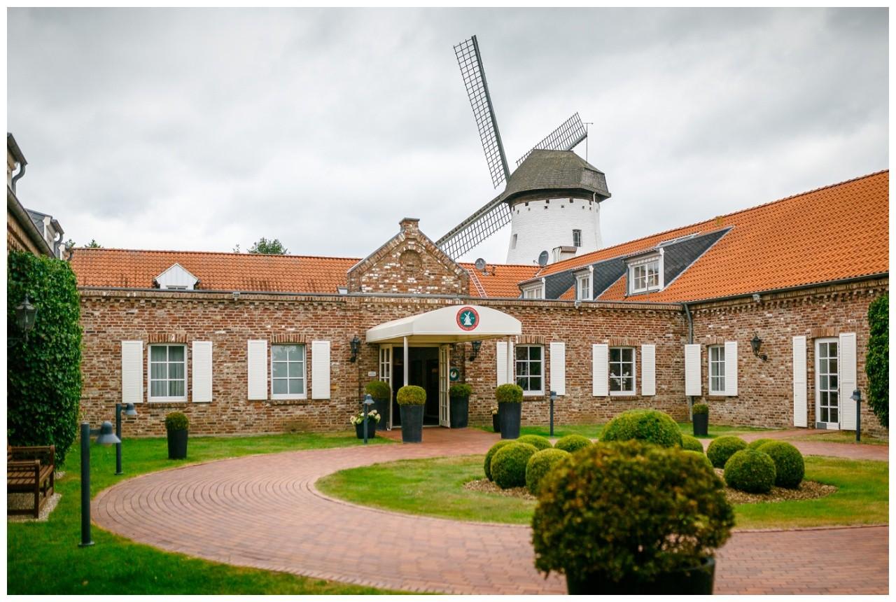 Hochzeit in der Elfrather Mühle in Krefeld