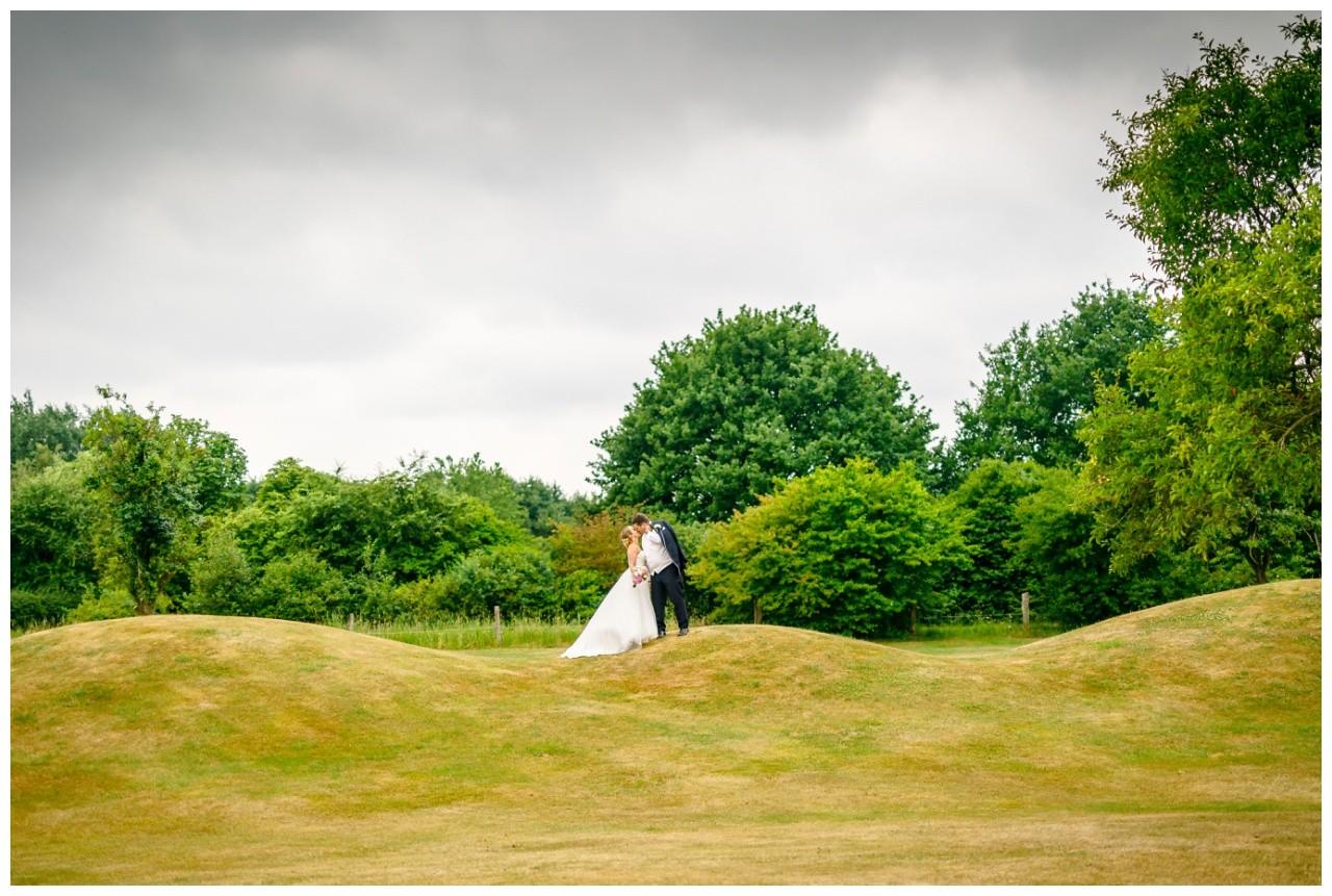 Brautpaarfoto in Krefeld Elfrather Mühle