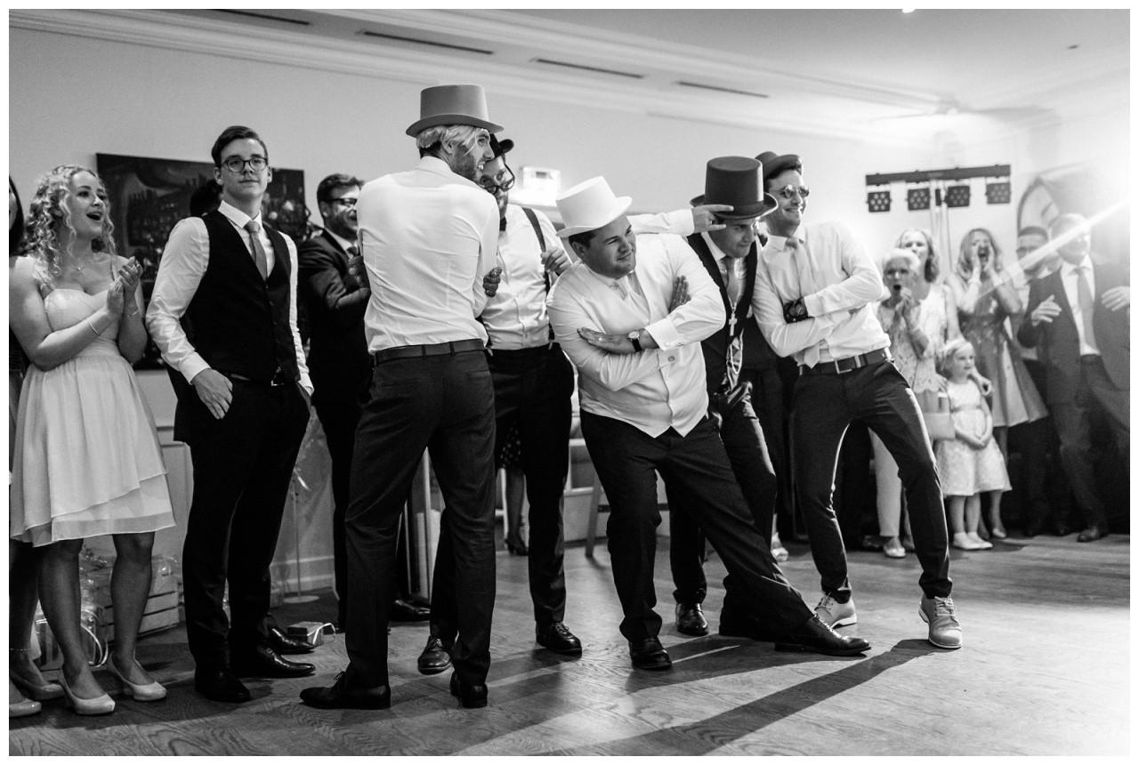 Backstreetbays Performance zur Hochzeit