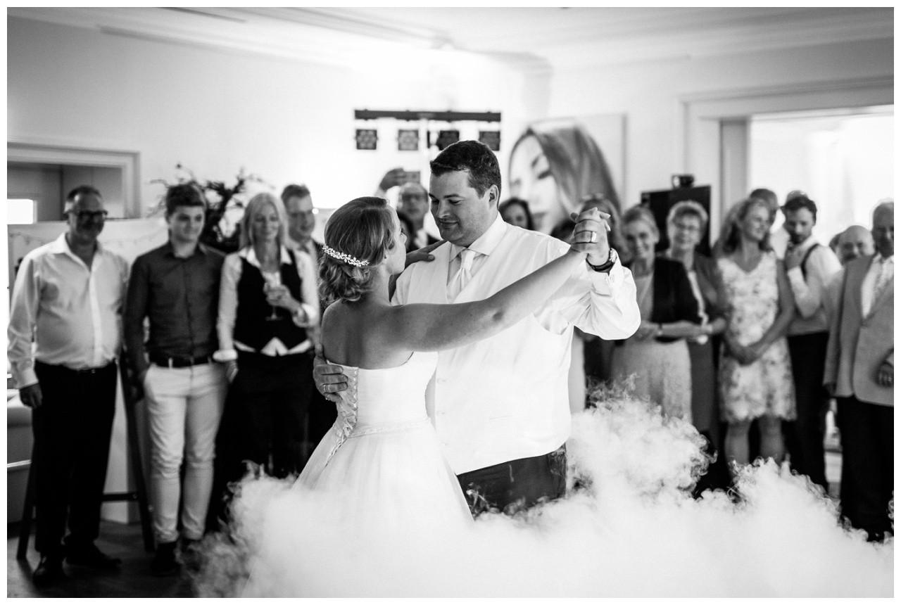 Hochzeitstanz im Nebel Krefeld