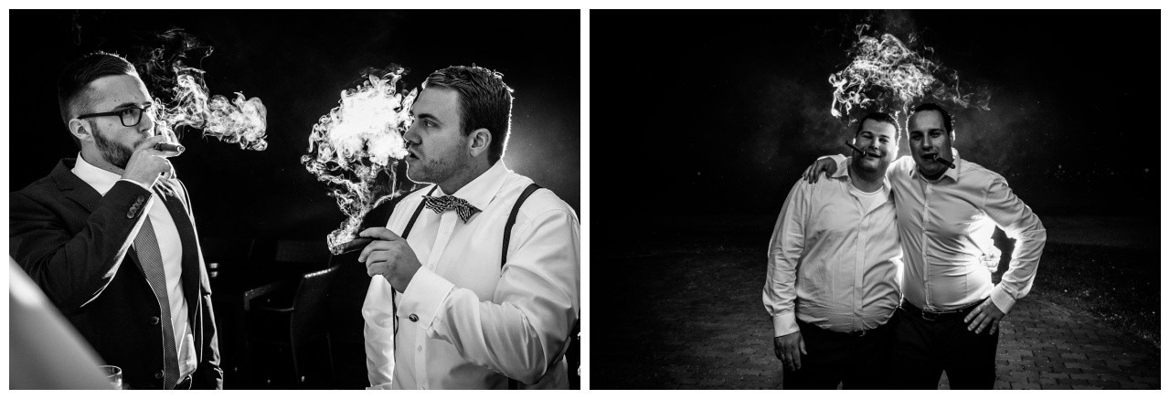 Fotos im Dunkeln bei der Hochzeit in der Elfrather Mühle in Krefeld