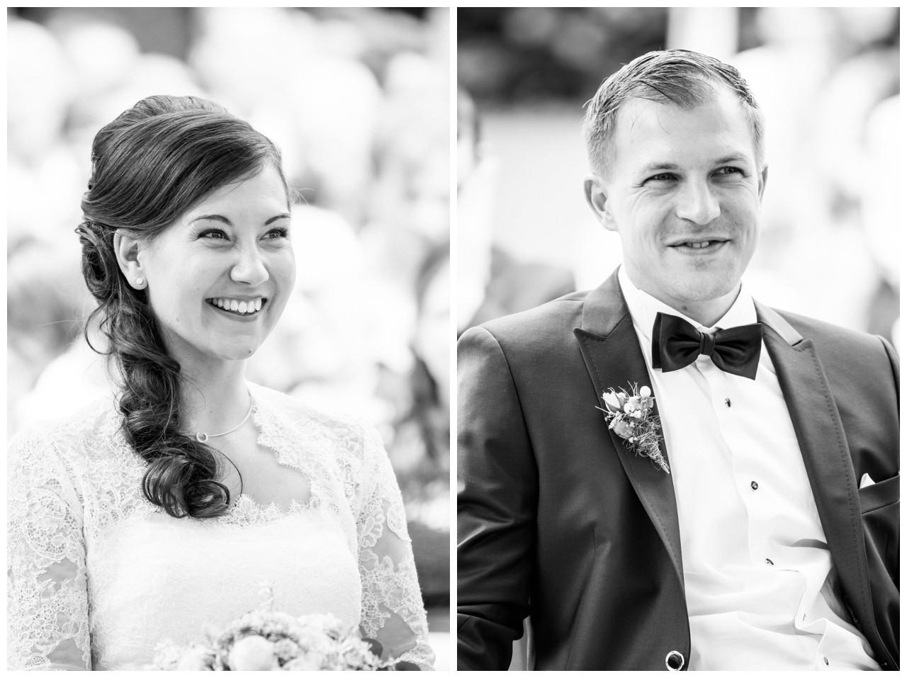 Portraits von Braut und Bräutigam