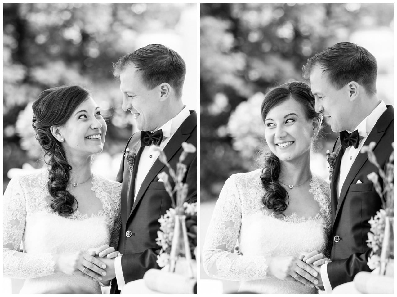Das Brautpaar bei der freien Trauung in Dortmund