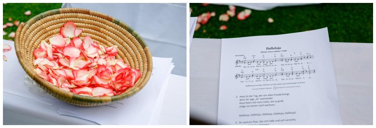Blütenblätter zum Streuen zur Hochzeit