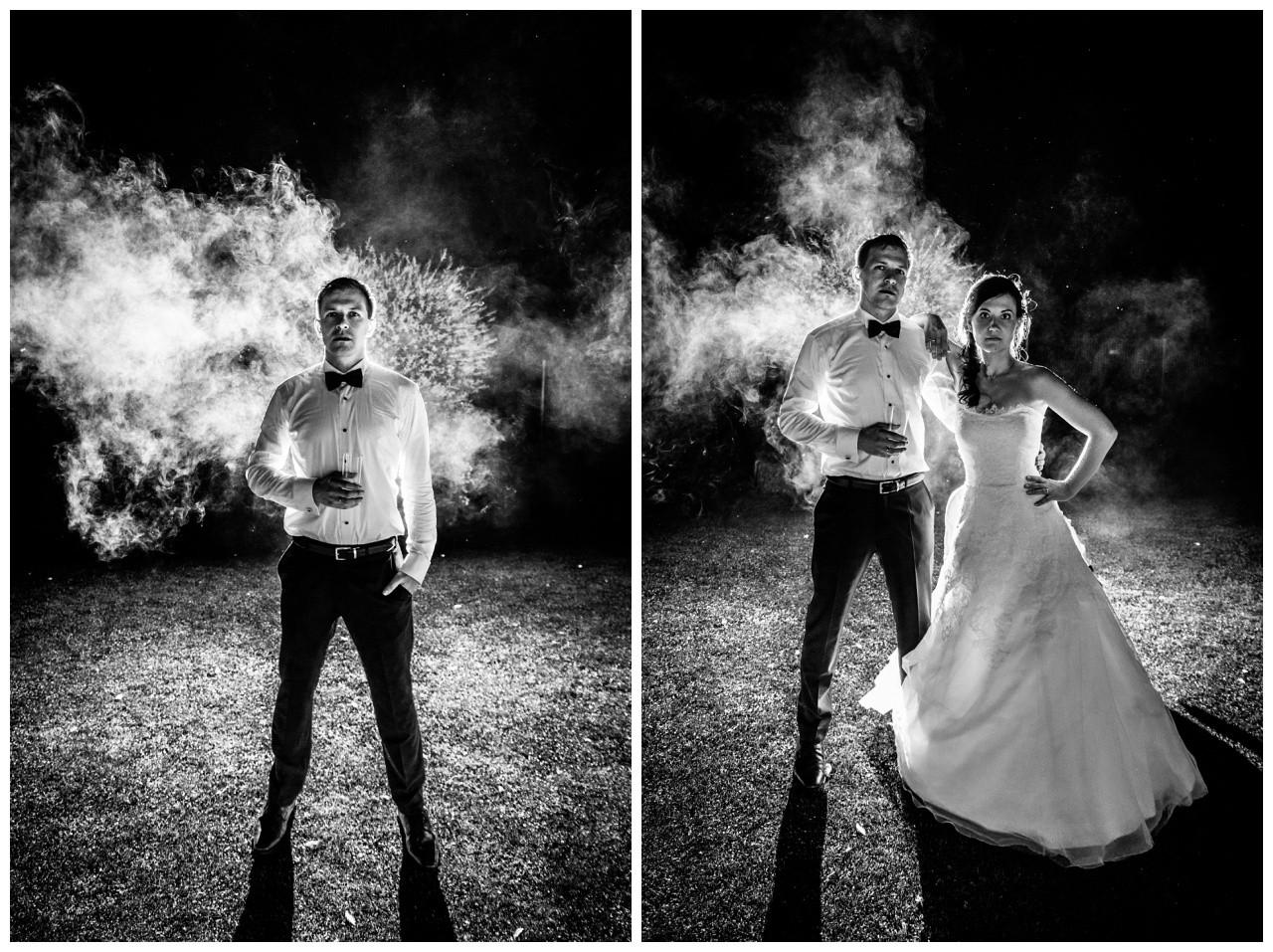 Hochzeitsbilder bei Nacht in Dortmund