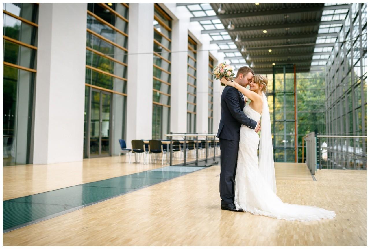 Brautpaarshooting im Ruhrfestspielhaus in Recklinghausen