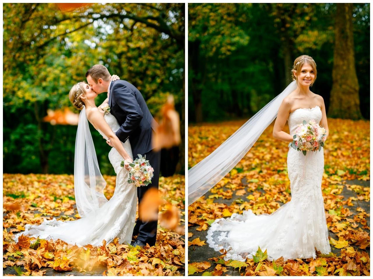 Hochzeitsfotos in Recklinghausen im Herbst