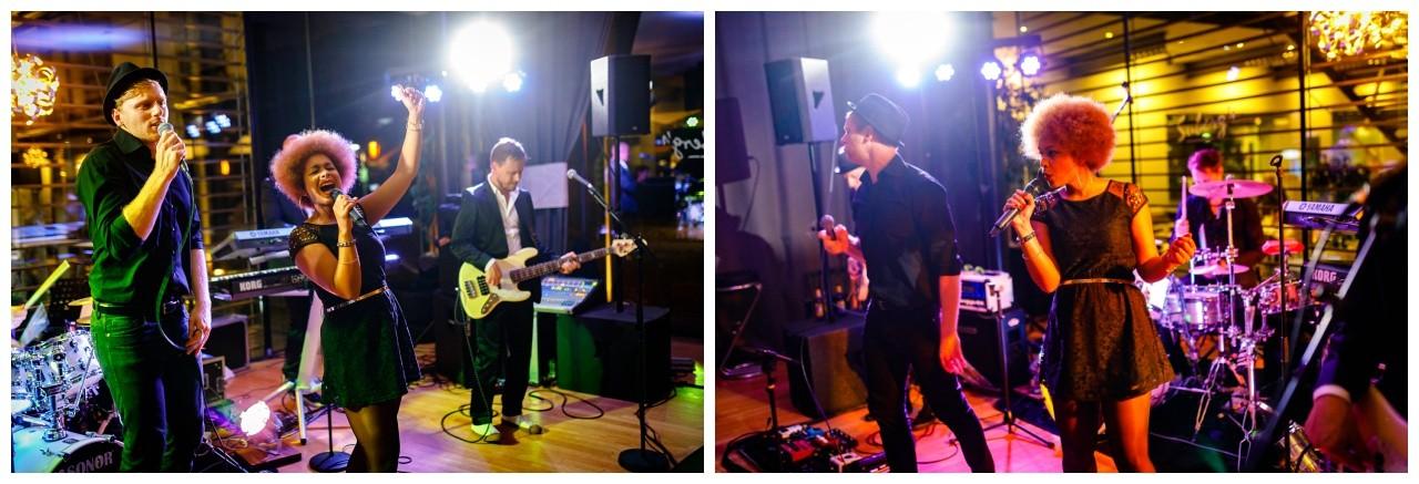Die Band zur Hochzeit macht Stimmung im Subergs in Recklinghausen