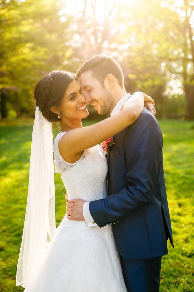 Paarfotos bei der Hochzeit in Bonn