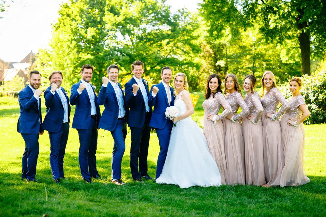 Bestmen and bridemaids