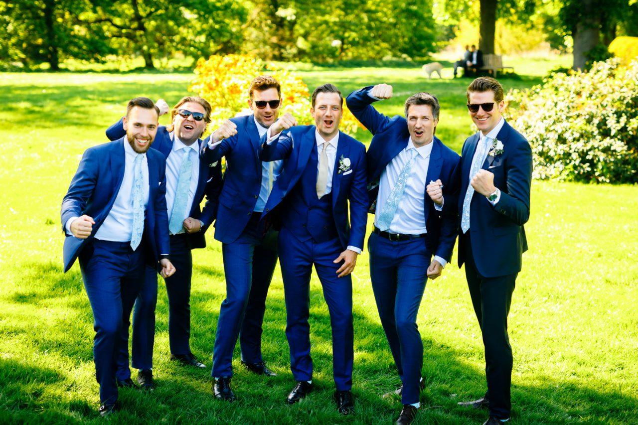 Jungsfoto Hochzeit