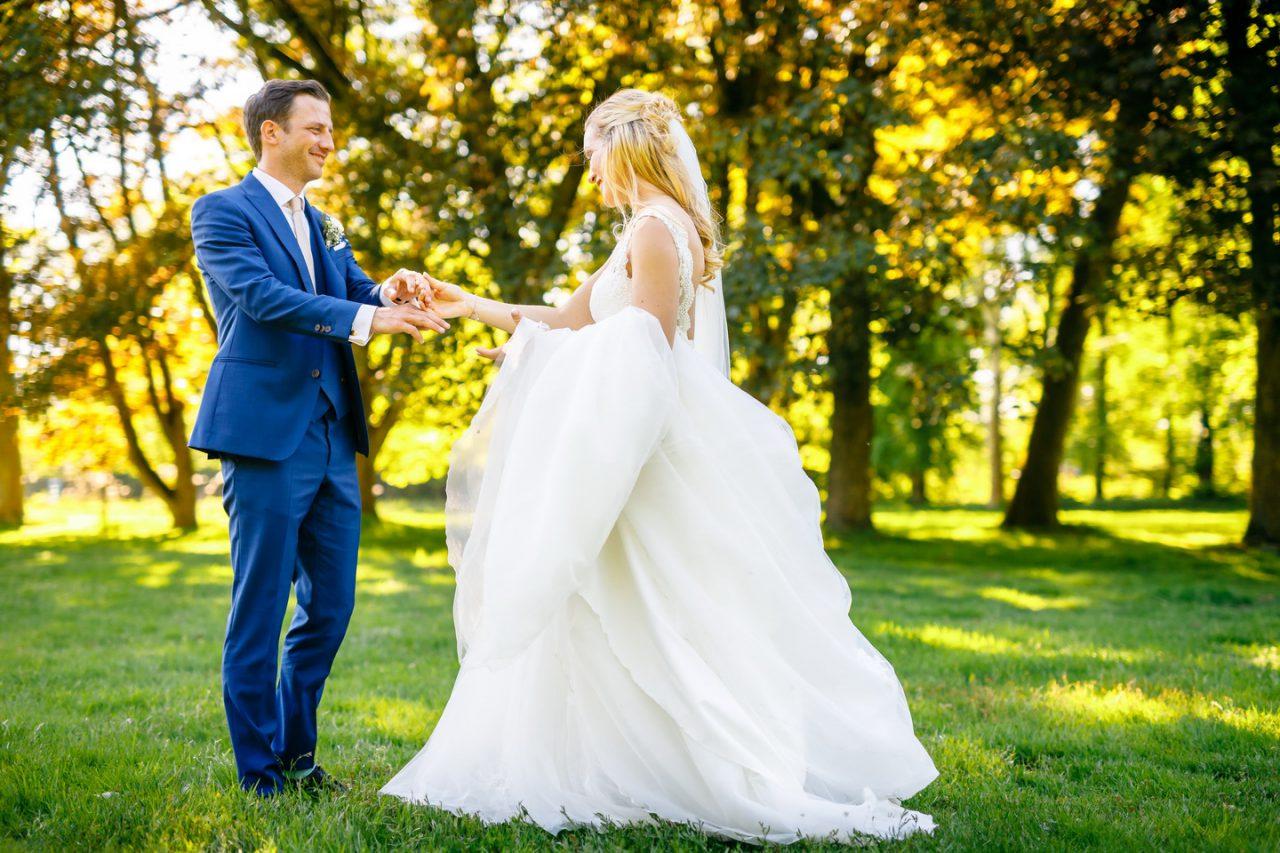Hochzeitsfoto Schloss Hertefeld