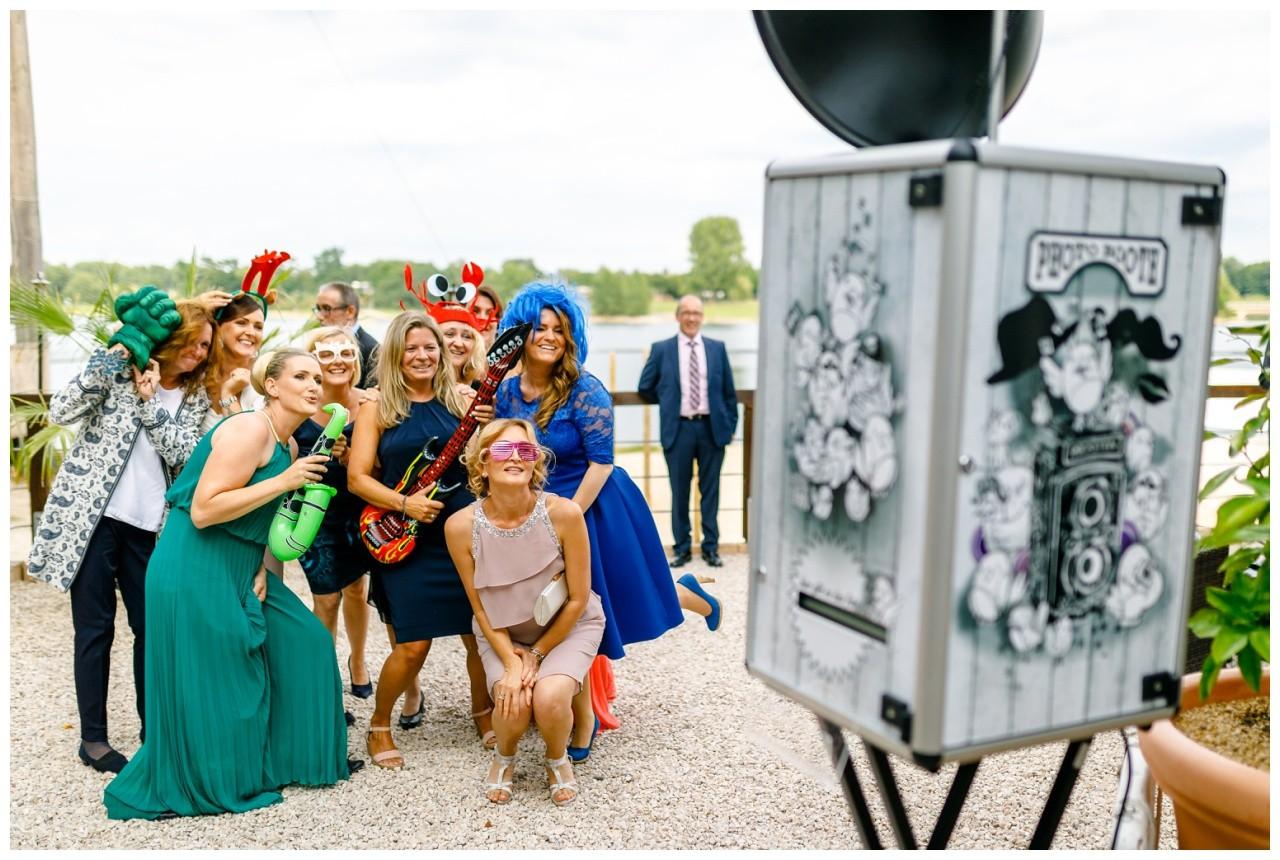 Photobooth bei der Hochzeit in Köln