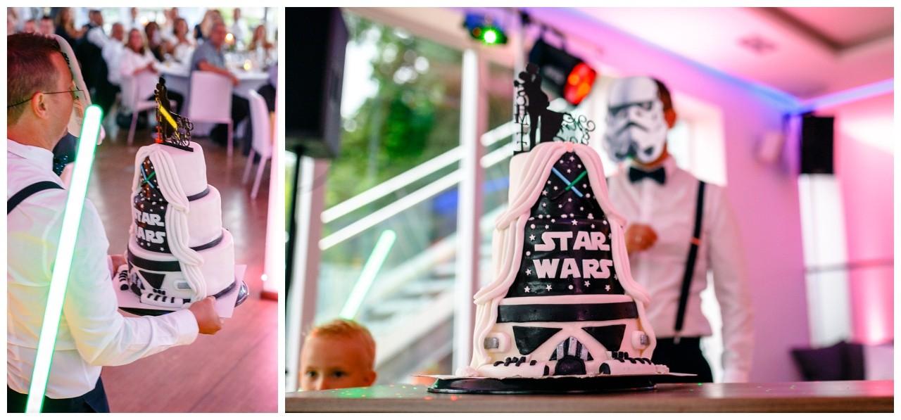 Star Wars Torte zur Hochzeit in Köln