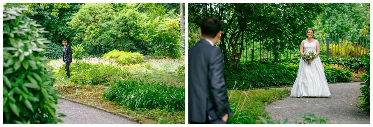 Hochzeitsfotos im Botanischen Garten Wuppertal
