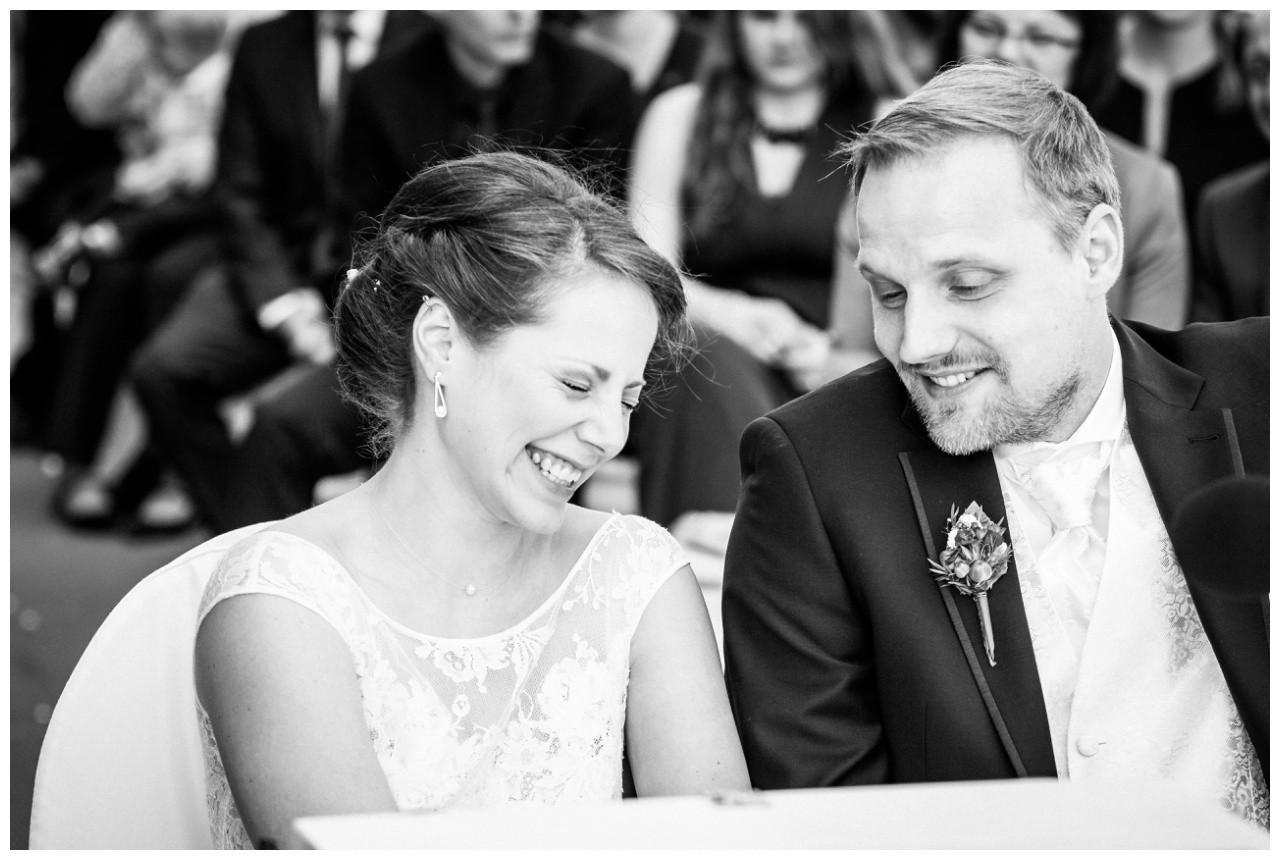 Das Brautpaar bei der Hochzeit auf Zeche Zollverein